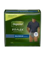 Depend Fit-Flex for Men, Maximum  Adult Incontinence Pullup Diaper