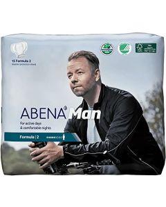 Abena Man Premium Incontinence Guard, Formula 2, 180 Count (12 Packs of 15)