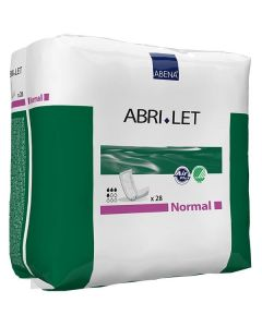 Abena Abri-Let Normal Adult Incontinence Booster Pad - 13 Inch