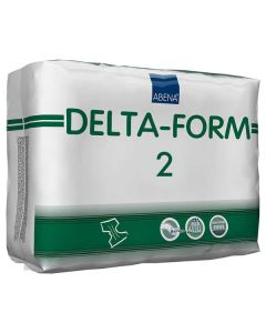 Abena Delta-Form 2 Adult Diaper Brief for Incontinence