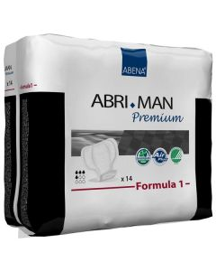 Abena Abri-Man Formula 1 Guards Adult Incontinence Male Guards & Shields