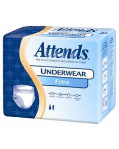 Attends Extra Absorbency Adult Incontinence Pullup Diaper