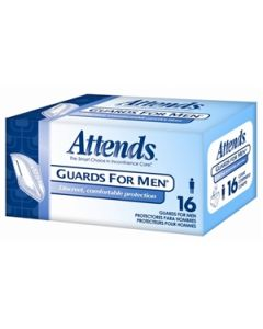 Attends Male Guards Adult Incontinence Bladder Control Pad