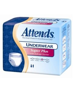 Attends Super Plus Adult Incontinence Pullup Diaper