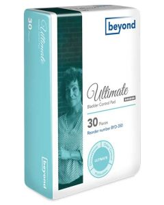 Beyond Ultimate Adult Incontinence Bladder Control Pad - 11.75 Inch