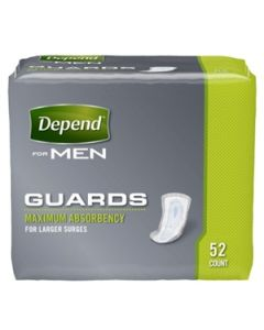 Depend Guards Adult Incontinence Bladder Control Pad