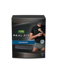 Depend Real Fit Adult Incontinence Pullup Diaper