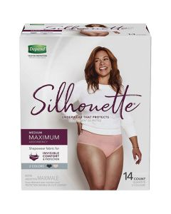 Depend Silhouette Maximum Adult Incontinence Pullup Diaper