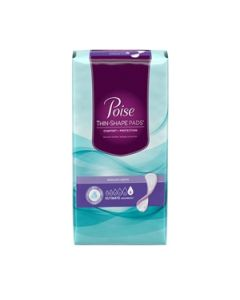 Poise Thin Shape Pads, Ultimate Adult Incontinence Bladder Control Pad - 13.3 Inch