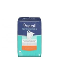 Prevail Belted Shields Adult Incontinence Bladder Control Pad