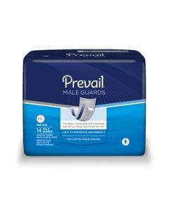 Prevail Male Guards Adult Incontinence Bladder Control Pad