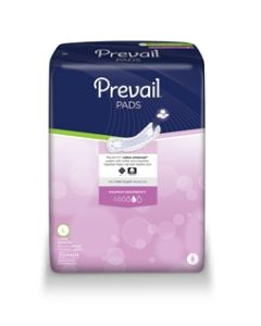 Prevail Maximum Long Bladder Control Pads - 13 Inch Pad