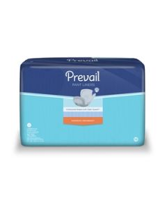 Prevail Pant Liners LG Adult Incontinence Two-Piece Pad and Pant Systems - 28 Inch