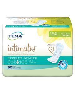 TENA Intimates Moderate Long Adult Incontinence Bladder Control Pad - 12 Inch