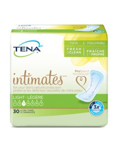 TENA Intimates Ultra Thin Light Regular Adult Incontinence Bladder Control Pad - 9 Inch