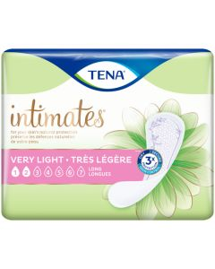 TENA Intimates Very Light Liners Long Adult Incontinence Bladder Control Pad - 9 Inch